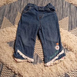4/$20🎀 Pooh & Piglet jeans size 18 months
